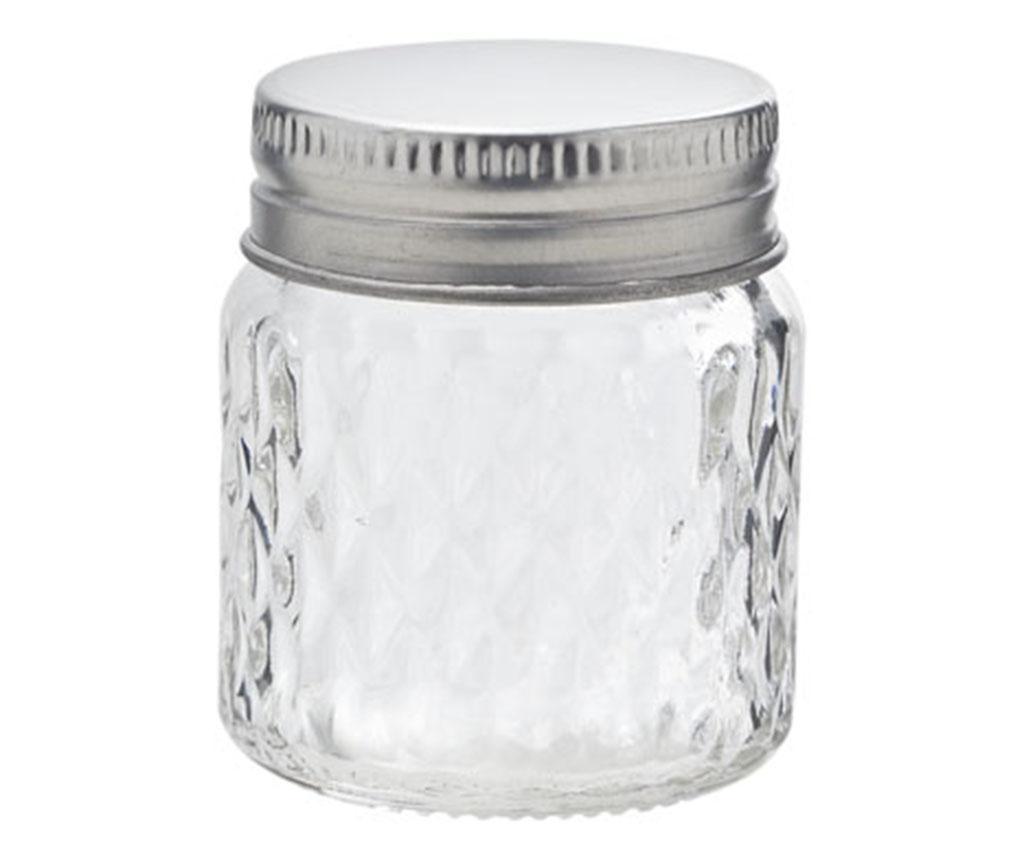 Borcan cu capac Clear 65 ml