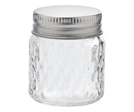Steklenka s tesnilnim zapiranjem Clear 65 ml