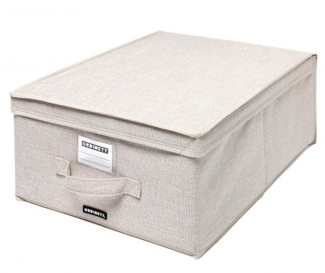 Storage box with cover Linette