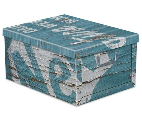 Storage box with cover Texture S