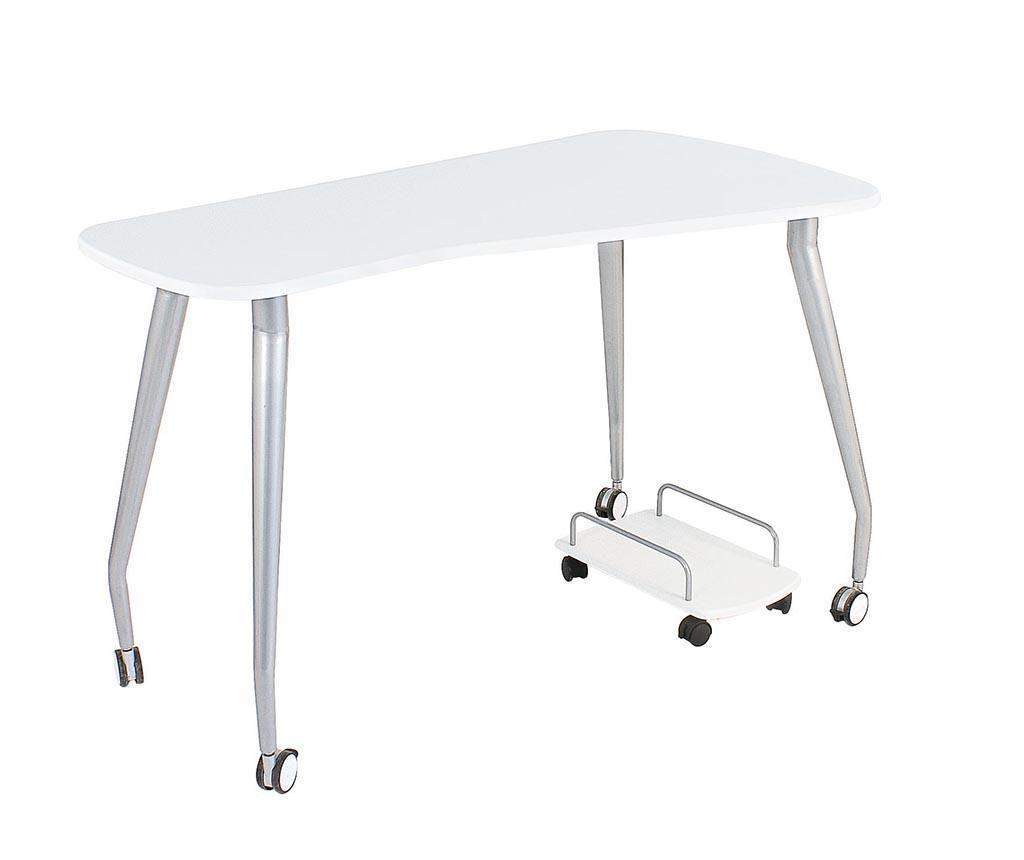 Písací stôl Eclipse White