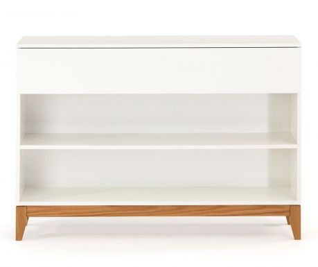 Konzolna miza Blanco Shelf
