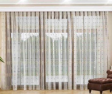 Welma Brown Függöny 200x260 cm