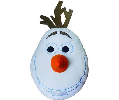 Декоративна възглавница Disney Frozen Olaf 3D 35x48 см