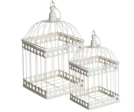 Cages Square 2 db Dekoráció