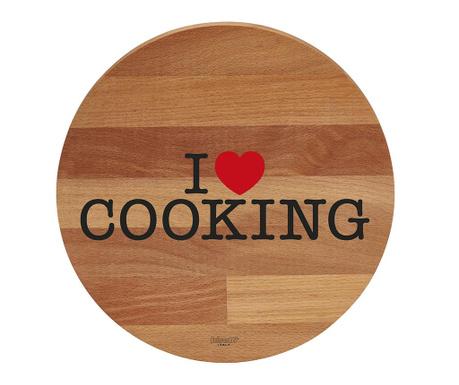 Дъска за рязане I Love Cooking