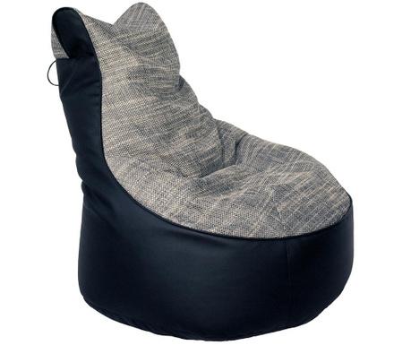 Пуф Extra Lotus Comfort Black Grey
