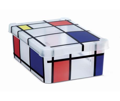 Cutie cu capac pentru depozitare Milano Squares Mini