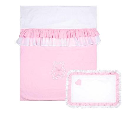 Sweet Dreams Pink Steppelt Ágytakaró garnitúra kiságyra