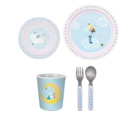 Set de masa pentru copii 5 piese Little Prince