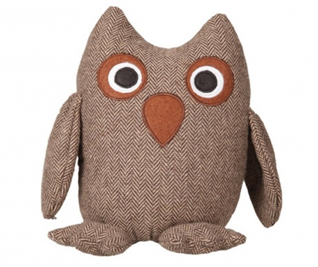 Стопер за врата Owl Brown