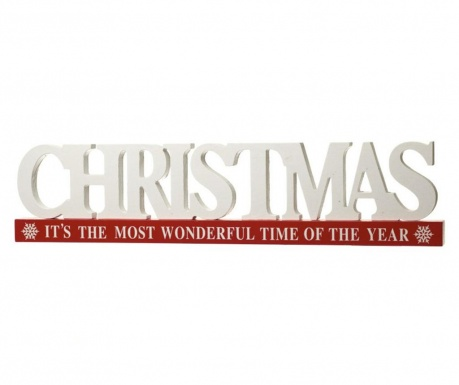 Christmas Word Dekoráció