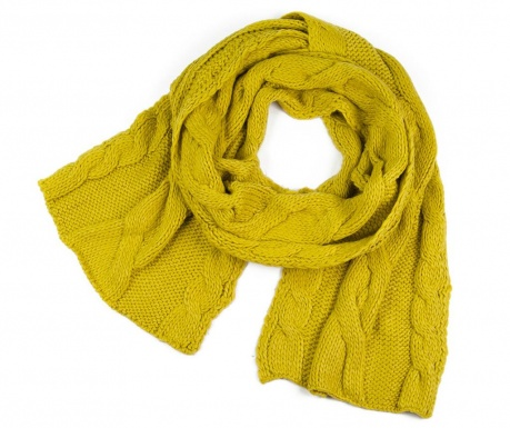 Fular Shapes Yellow 40x180 cm