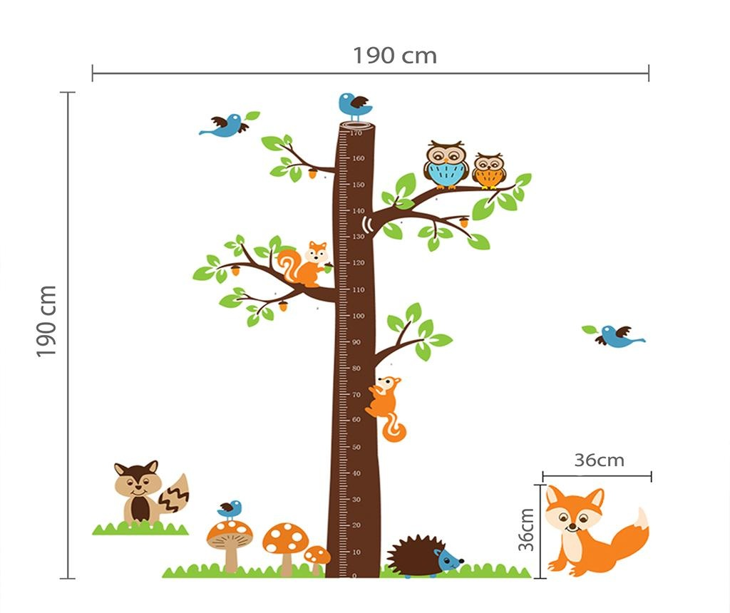 Nalepka Fox Tree Height Measure
