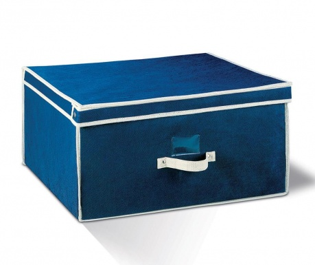 Κουτί με καπάκι για αποθήκευση Aldo Blue L