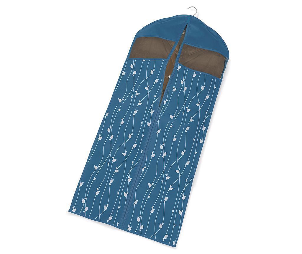 Navlaka za odjeću Leaves Blue 60x137 cm