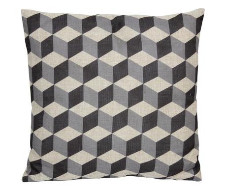Dekorační polštář Style Market Grey 45x45 cm