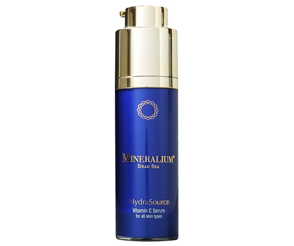Mineralium Hydra Source Vitamin C All Skin Types Hidratáló  Arcszérum 30 ml