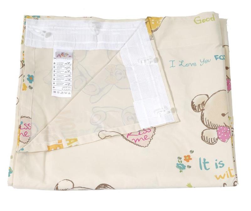 Fashionable Teddy Bears Sötétítő 140x270 cm