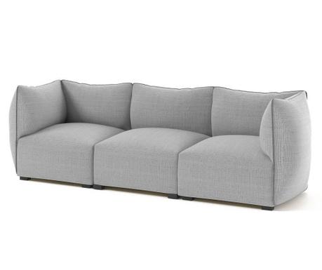 Canapea modulara 3 locuri Corso Grey