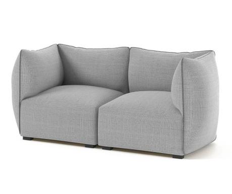 Canapea 2 locuri Corso Grey