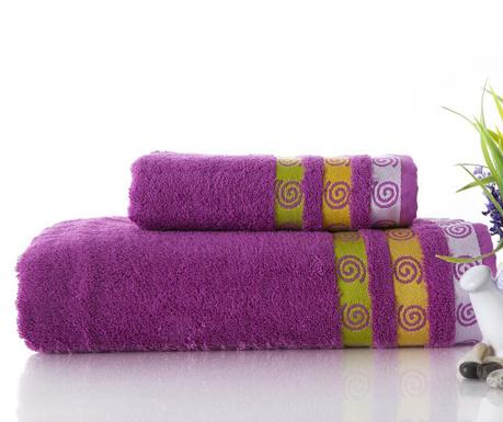 Zestaw 2 ręczniki kąpielowe Truva Lilac