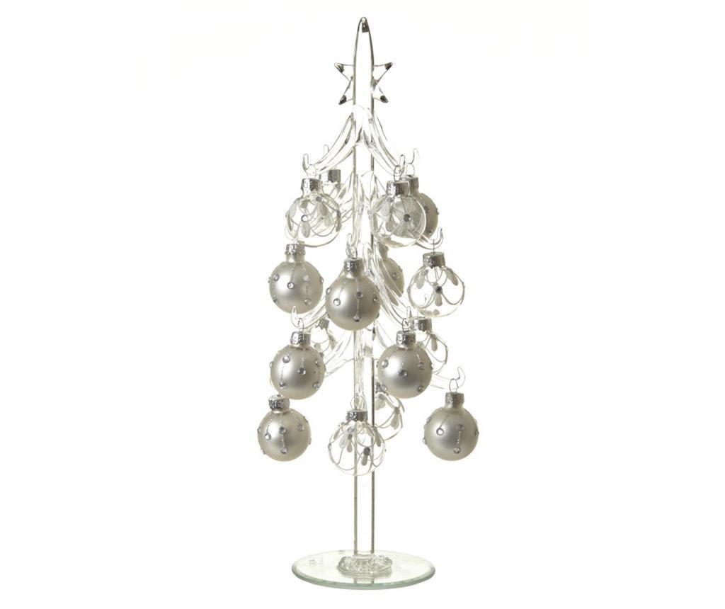 Dekoracija Christmas Tree with Baubles