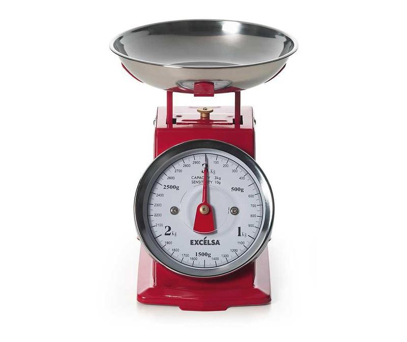 Кухненски кантар Mechanic Red