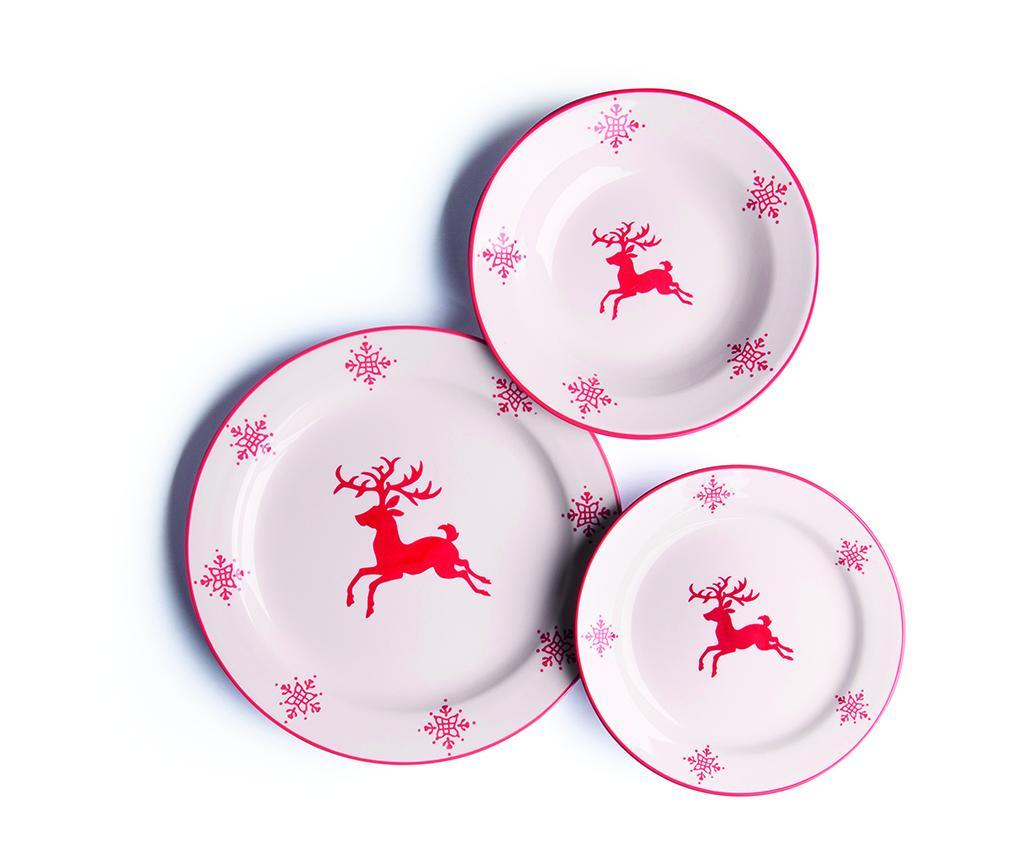 Сервиз за хранене 18 части Reindeer
