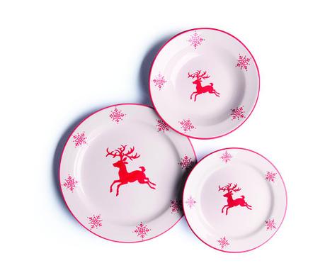 Reindeer 18 darabos Étkészlet