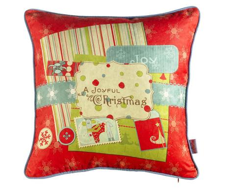 Poszewka na poduszkę A Joyful Christmas 43x43 cm