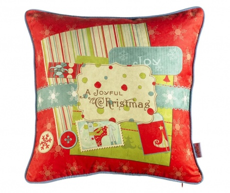 Prevleka za blazino A Joyful Christmas 43x43 cm