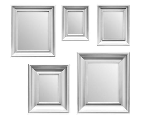 Sada 5 zrcadel Sense Silver