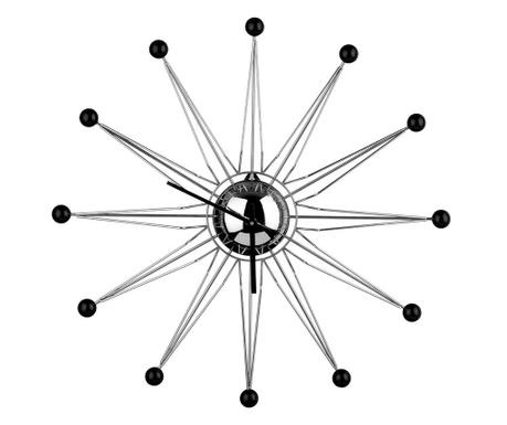 Nástěnné hodiny Directions Black