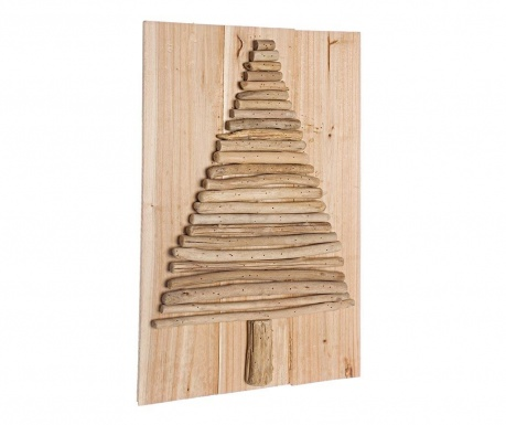 Stenska dekoracija Wood Tree