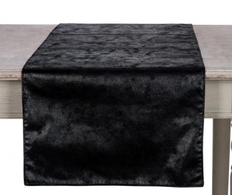 Traversa de masa All Black 45x150 cm
