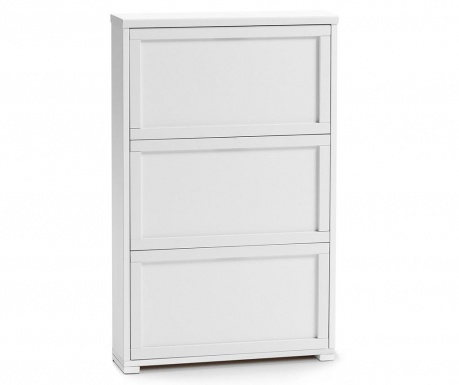 Шкаф за обувки Gioia  Off White