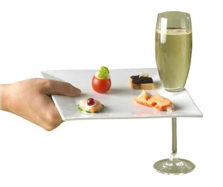 Farfurie pentru aperitive Reception