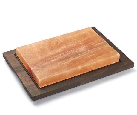 Солна плоча за готвене с поставка Salt Rectangular