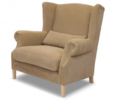 Fotel Alpaga Taupe