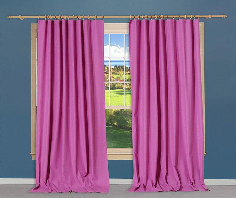 Zastor Simple Violet 170x270 cm
