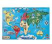 Talna sestavljanka s 33 kosi World Map