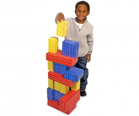 Set za grajenje s 24 kosi Jumbo Blocks