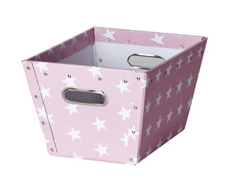 Кутия за съхранение Ajax Stars Pink S