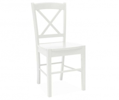 Chair Crossed White