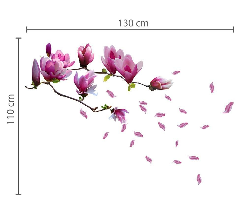 Sticker Magnolia Flower