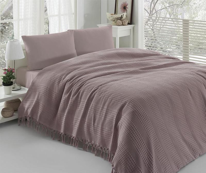Vulsky Lilac Pique ágytakaró 220x240 cm