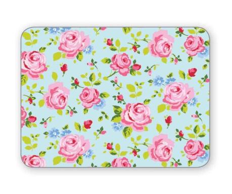 Set 4 individualuri Vintage Floral 21.5x29 cm