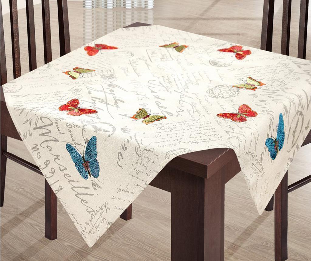 Stolnjak Ada Butteflies Beige 85x85 cm