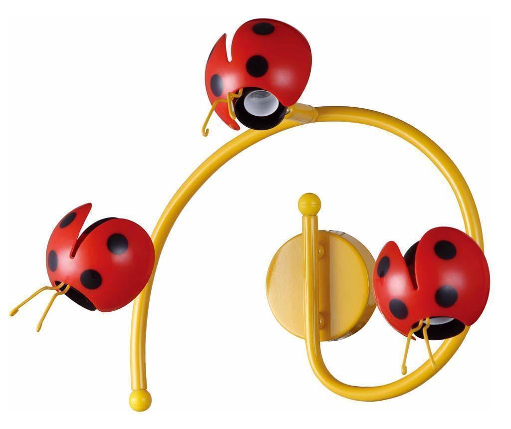 Stenska svetilka Ladybug Triple